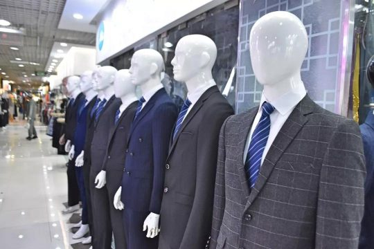 business suit in qi pu road