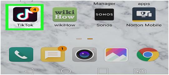 Open your TikTok app