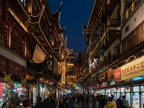 chenghuang miao old street