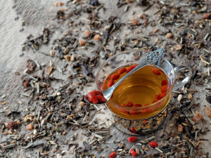 12.Goji tea
