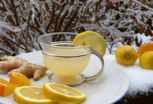 7.Lemon tea