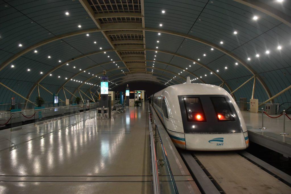 Shanghai Fastest Train, Maglev Train