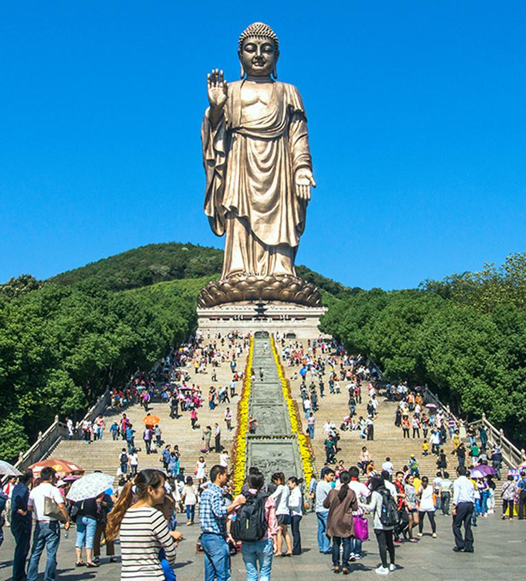 the Lingshan Grand Buddha