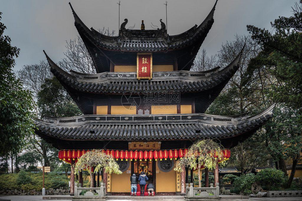 long hua temple opening