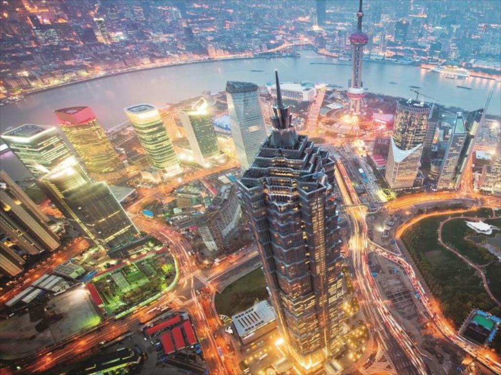 the Shanghai World Financial Center