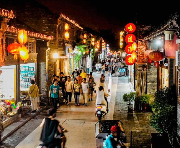 yang zhou dong guan street